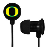 Oregon Ducks Scorch Earbuds + Mic with BudBag