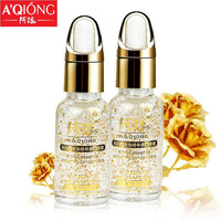20ML Aqiong 24k Pure Gold Foil Essence Serum Face Lift Anti-Aging Anti-redness Whitening Moisturizing Oil Control Face Cream