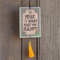 Car  Air  Fresheners:  Do  What  Makes  You  Happy  Tassel  Air  Freshener  From  Natural  Life