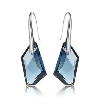 100% Original Crystals from Swarovski hot trendy earrings good for New year mother's day Gift