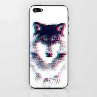 Act like a wolf.  iPhone & iPod Skin by Mason Denaro