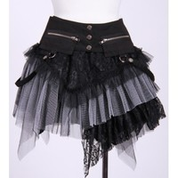 Dark Desires Skirt [black/white]