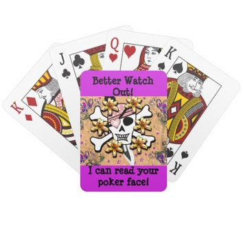 I Can Read Your Poker Face Cards