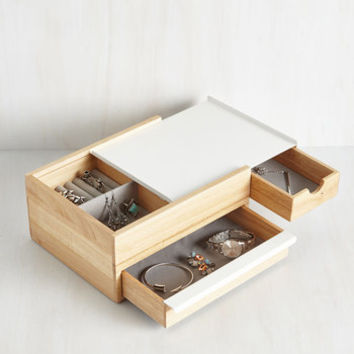 Terrifically Tucked Away Jewelry Box by ModCloth