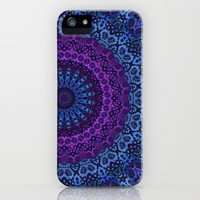 Twilight Mandala iPhone & iPod Case by Lyle Hatch