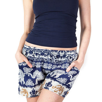 Surapa Dark Blue Shorts