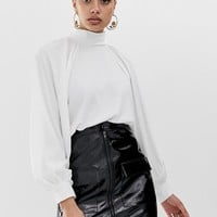 ASOS DESIGN high neck top with long sleeve | ASOS