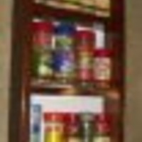 On the Wall Spice Rack Size: 33""