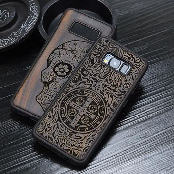 Ebony Samsung Wood Phone Case