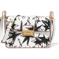 Lanvin - Jiji printed leather shoulder bag