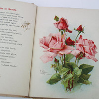 Lord Byron Poetry Book Rubies by Lord Byron Antique by WhimzyThyme