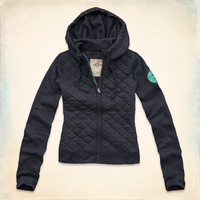 Costa Mesa Quilted Hoodie
