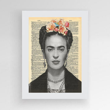 Instant download, Frida Kahlo Art, Frida Poster, Frida Print, Frida Kahlo, Frida gift, Frida wall art, Woman in art, Frida Khalo
