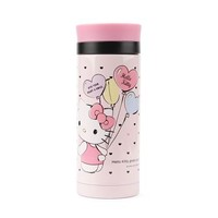 Hello Kitty 11 oz. Stainless Steel Water Bottle: Hearts