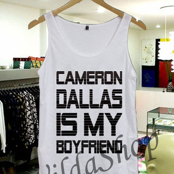 Cameron Dallas - Tanktop Unisex Adult S-XL