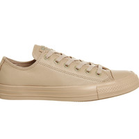 Converse All star Low Leather Amberlight Light Gold Exclusive - Hers trainers