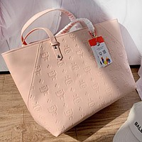 MCM New Popular Women Shopping Bag Leather Handbag Tote Satchel Shoulder Bag