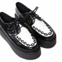 New Ladies Platform Lace Up Womens Flats Creepers Goth Punk Shoes 10 Color SY07