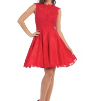 Short Homecoming Prom Cocktail Dress