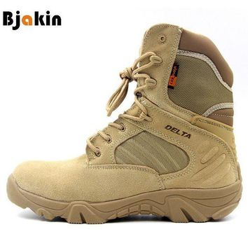 DCK7YE Bjakin Hiking Climbing Shoes DELTA Professional Waterproof Hiking Boots Tactical Boots