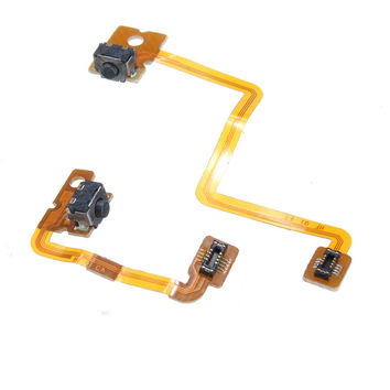 Hot!!! Special Offer Left Right Shoulder Button with Flex Cable For Nintendo For 3DS Repair L/R Switch Video Game Accessories