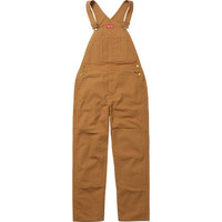 Supreme: Canvas Overalls - Duck Brown