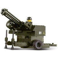 Anti Aircraft Battery - LEGO Compatible Military Set
