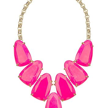 Harlow Statement Necklace in Neon Pink - Kendra Scott Jewelry