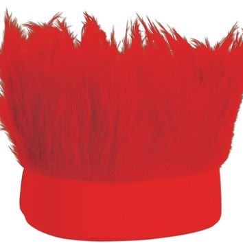 Hairy Headband - Red Case Pack 12