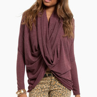 So Twisted Sweater $48