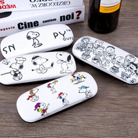 High Quality Kawaii Cartoon Dogs Mini Pen Bag Leather Glasses Case Storage Box 163*60*38MM Snoopie Kids Christmas gifts-in Storage Boxes & Bins from Home & Garden on Aliexpress.com | Alibaba Group