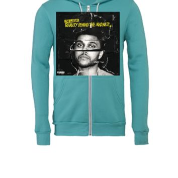 beauty behind the madness the weeknd - Unisex Full-Zip Hooded Sweatshirt