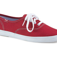 Keds Champion Canvas Sneakers {Red} Women's | WF31300