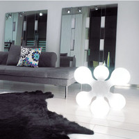 Kundalini Atomium Table and Floor Lamp by Hopf and Wortmann