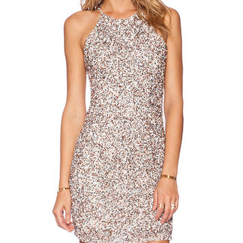 Parker Jaden Embellished Dress in Blush