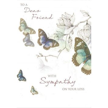 Dear Friend Sympathy Card