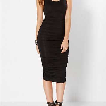 Simply Cinched Midi Dress