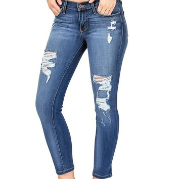 Pacifica Crop Skinny Jeans