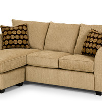 The 107 Chaise Sectional Queen Sleeper Sofa by Stanton-635540908575258607