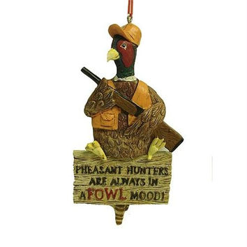 Christmas Ornament - Pheasant Hunter