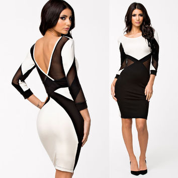 Elegant Sexy Bandage Dress