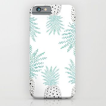 Pineapple Pattern iPhone & iPod Case by ES Creative Designs
