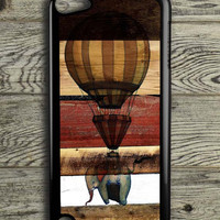 Wooden Panel Ballons Elephants iPod 5 Touch Case