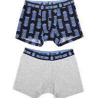 Doctor Who Boxer Brief 2 Pack