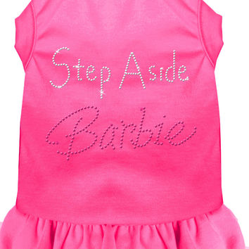 Step Aside Barbie Rhinestone Dress Black with Bright Pink Sm (10)