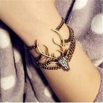 Awesome Great Deal New Arrival Gift Stylish Hot Sale Shiny Vintage Diamonds Korean Bracelet [11326371284]