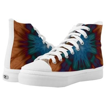 Copper Blues Printed Shoes
