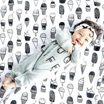 Swaddle Baby Multi Use Soft Mono Tone Color Blankets 100% Cotton (15 patterns)