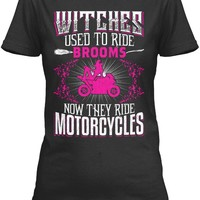 Now witches ride motorcycles...