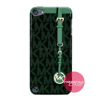 Michael Kors MK Bag Dark Green iPod Case Cover